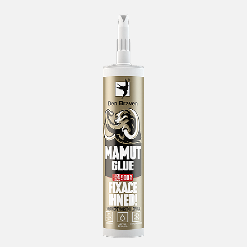 MAMUT high tack  biely Gold, 290ml